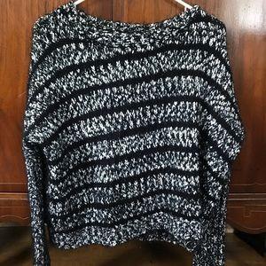 Forever 21 Black & White Knit Sweater